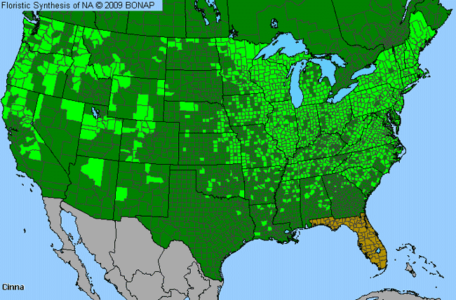 Allergies By County Map For Wood-Reed