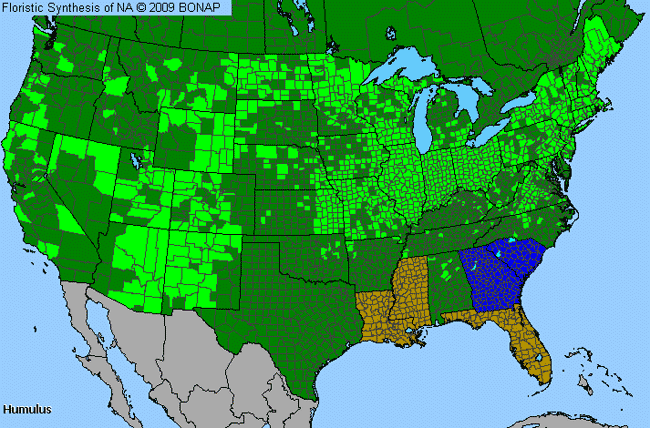 Allergies By County Map For Hop