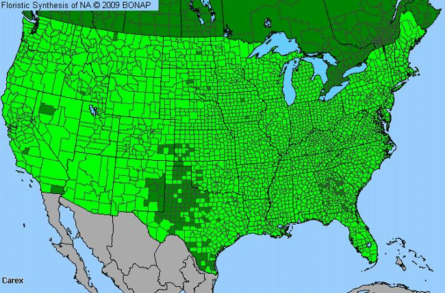 Allergies By County Map For Sedge