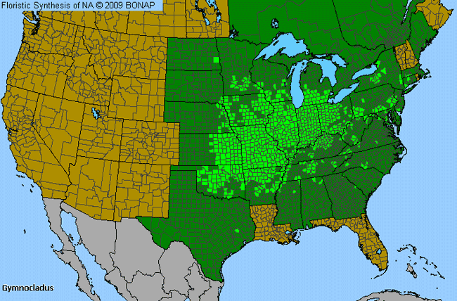 Allergies By County Map For Coffeetree