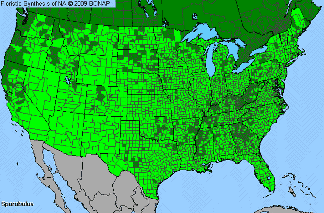 Allergies By County Map For Dropseed