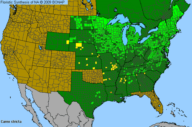 Allergies By County Map For Uptight Sedge