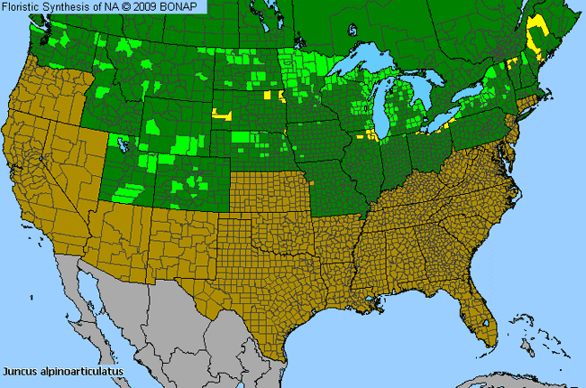 Allergies By County Map For Northern Green Rush