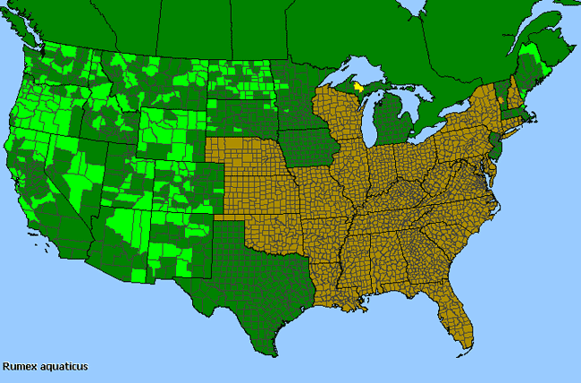 Allergies By County Map For Western Dock